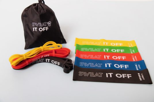 sweat it off resistance bands kit